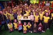 BIRTHDAY BASH: More than 100 Brownies descend on Adventure Point, in Darlington, to celebrate 100 years of the organisation Picture: SARAH CALDECOTT