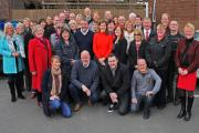 LOCAL CANDIDATES: The Darlington Labour local election candidates. Picture: ANDY LAMB